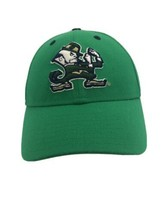 Notre Dame Fighting Irish Green Official On Field Cap New Era Concealer Size 7 - $24.70