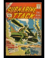 SUBMARINE ATTACK #29 1961-CHARLTON WAR COMICS G - $31.53