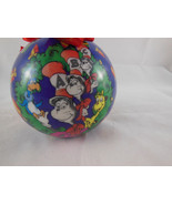 "Wubbulous World of Dr Seuss Cat in the Hat Henson Christmas 3.25"" ball o... - $8.90"