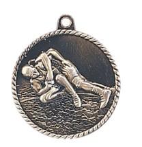 Wrestling Medal Award Trophy With Free Lanyard HR770 School Team Sports - $3.99+