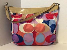 Authentic Signature Satin Shoulder Handbag A1069-F13800 - $49.50