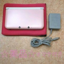 Nintendo 3Ds Ll Pink White - $236.87
