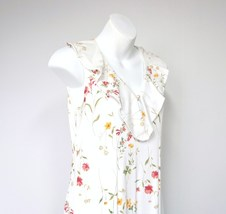 Romantic Dress  Retro Floral Long Flowered Long Dress by Bizzit Size 8 P... - $31.00