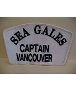 Sea Gales Captain Vancouver Souvenir Patch Crest Emblem  - $5.99