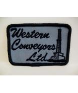 Western Conveyors Limited Souvenir Crest Patch Emblem - $4.99