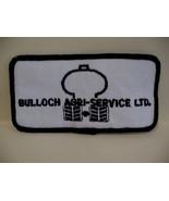 Bulloch Agri Service Ltd. Souvenir Patch Crest Emblem - $4.99