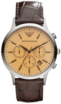 Emporio Armani Classic Chronograph Quartz Ar2433 Men's Watch - $289.25 CAD