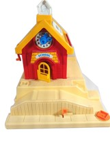 Vintage Fisher Price Little People School House - $19.95