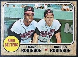 1968 Topps #530 Bird Belters Reprint - Brooks & Frank Robinson - MINT - $1.98