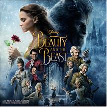 Walt Disney Beauty and the Beast Live Movie 16 Month 2018 Wall Calendar SEALED - $14.50