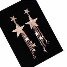 Earrings, Long Line Bar Dangle Earrings Dangle Hook Earrings ?Star Shape?? - $13.00