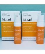 x2 Murad Vita C Vitamin Glycolic Brightening Serum -Travel (0.17 oz/5 mL... - $37.99