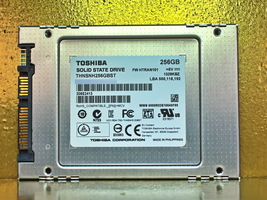 "Toshiba THNSNH256GBST FW:HTRAN101  256GB 2.5"" SSD SATA - $53.88"