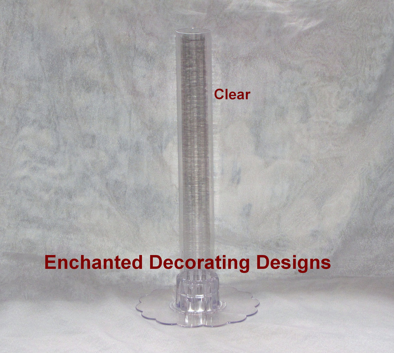 12 quot  clear plastic cylinder tube vase wedding and 15  unique wedding centerpiece games