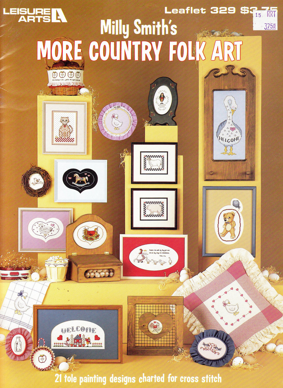 Primary image for CROSS STITCH MILLY SMITH'S MORE COUNTRY FOLK ART