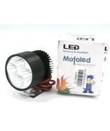 Motoled Super Bright Car / Motorcycle LED Headlight. 4-LED, White. (ZJ19... - $17.77