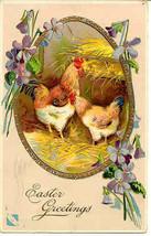 Happy Easter Paul Finkenrath Vintage 1910 Post Card - $5.00
