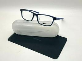 NEW NIKE 7919AF 416 DARK BLUE  OPTICAL Eyeglasses 54-15-140MM /CASE - $58.17