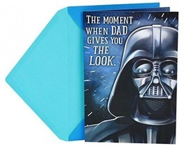 Hallmark Funny Father's Day Greeting Card To Dad From Child (Star Wars D... - $13.42