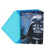 Hallmark Funny Father's Day Greeting Card To Dad From Child (Star Wars D... - £9.54 GBP