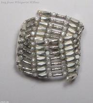 White Pearl Silver Magnetic Hematite Fashion Lariat - $18.00