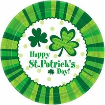 """Happy St. Patrick's Day! 7"""" Paper Dessert Plates 60 Count - New - $18.69"""