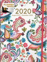 Paisley Monthly Planner 2020 August 2019 to December 2020 - $12.99