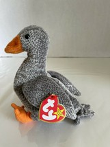 Ty Beanie Baby Honks the Goose DOB Mach 11, 1999 MWMT Free Shipping Retired - $7.00