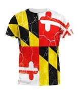 Maryland Vintage Distressed State Flag All Over Mens T Shirt - $26.95+