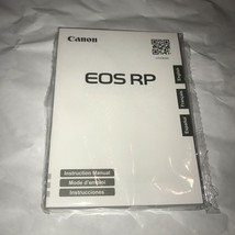 Canon EOS R Instruction Owner User's Manual Book - NEW - $11.97