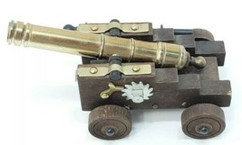 VTG MINI CANNON, SHOOTS CAPS, MADE IN ITALY! - $28.01