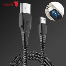 XLevel Micro USB Cable 2.0A Nylon Fast Charge USB Data Cable for Samsung... - $12.54