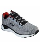 Skechers Gray shoes Men Memory Foam Walk Train Sport Comfort Casual Wove... - $49.79
