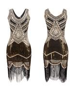 Women's 1920s Roaring 20s Flapper Costume Charleston Gatsby Chicago Fanc... - $55.00