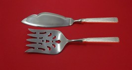 Old Lace by Towle Sterling Silver Fish Serving Set 2 Piece Custom Made HHWS - $127.40
