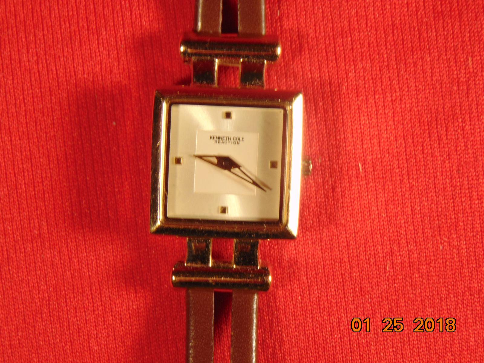 Vintage, Kenneth Cole, Reaction,  Woman's Quartz Wristwatch. - $7.99