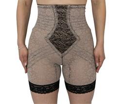 Rago High Waist Leg Shaper Extra Firm shaping Mocha/Black Style 6207 - $51.48+