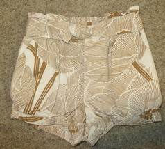 EUC Baby Gap Beige Brown Print Shorts Size 4 Years - $2.99