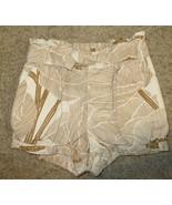 EUC Baby Gap Beige Brown Print Shorts Size 4 Years - $2.99