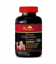 Female Libido Enhancement Pill - Horny Goat Weed and Ginseng - 1 Bottle 60 Caps - $96.99