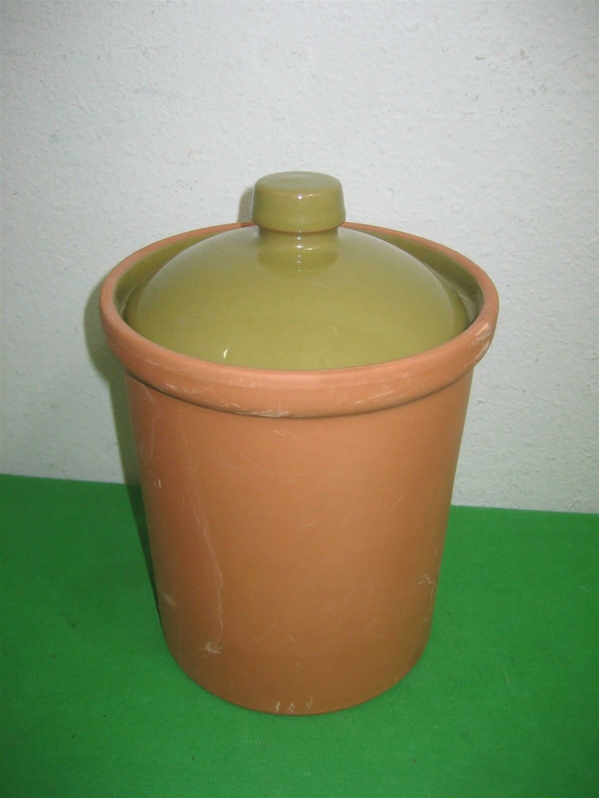 """Daniel Cremieux Maison Terracotta 7"""" Canister Made in Portugal Designed France - $12.16"""