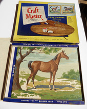 Vintage 1950'S CRAFT MASTER Oil Paint by Number... - $19.78