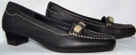 Liz Claiborne Flex Heels Pumps Shoes Leather 6m - 6B Black * New - $33.84