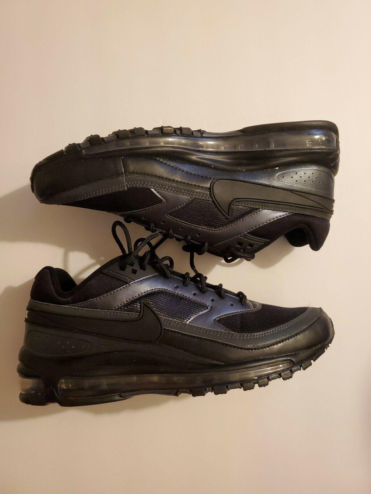 Nike Air Max 97/BW Running Shoes Black Metallic Hematite Men's Sz 7 AO2406-001