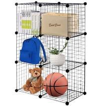 DIY 6 Cube Grid Wire Cube Shelves - €54,86 EUR