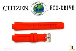 Citizen Eco-Drive E168-S061903 Original 14mm Orange Rubber Watch Band S061890  - $79.95
