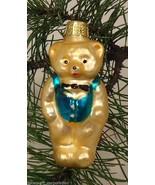 Teddy Bear Old World Ornament European Glass - $6.76