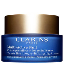 Clarins Multi-Active Night Cream Normal to Dry Skin 1.7 oz  - $46.56