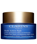 Clarins Multi-Active Night Cream Normal to Dry Skin 1.7 oz  - $46.58