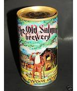 1979 OLD SALMON BREWERY Steel Beer Can Historical Colle - $9.99